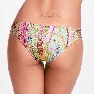 🧡Victoria's Secret Strappy Cheeky Paisley Bikini